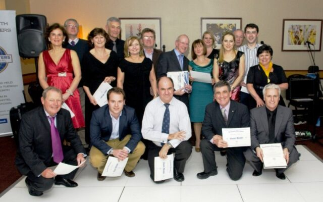 Chartered members of Dublin South Toastmasters
