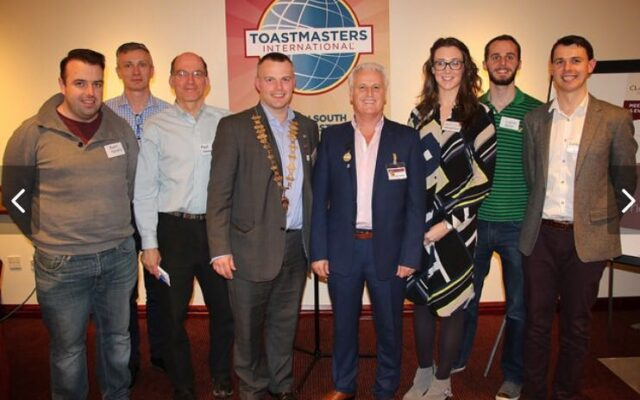 Dublin South Toastmasters Committee 2015/2016